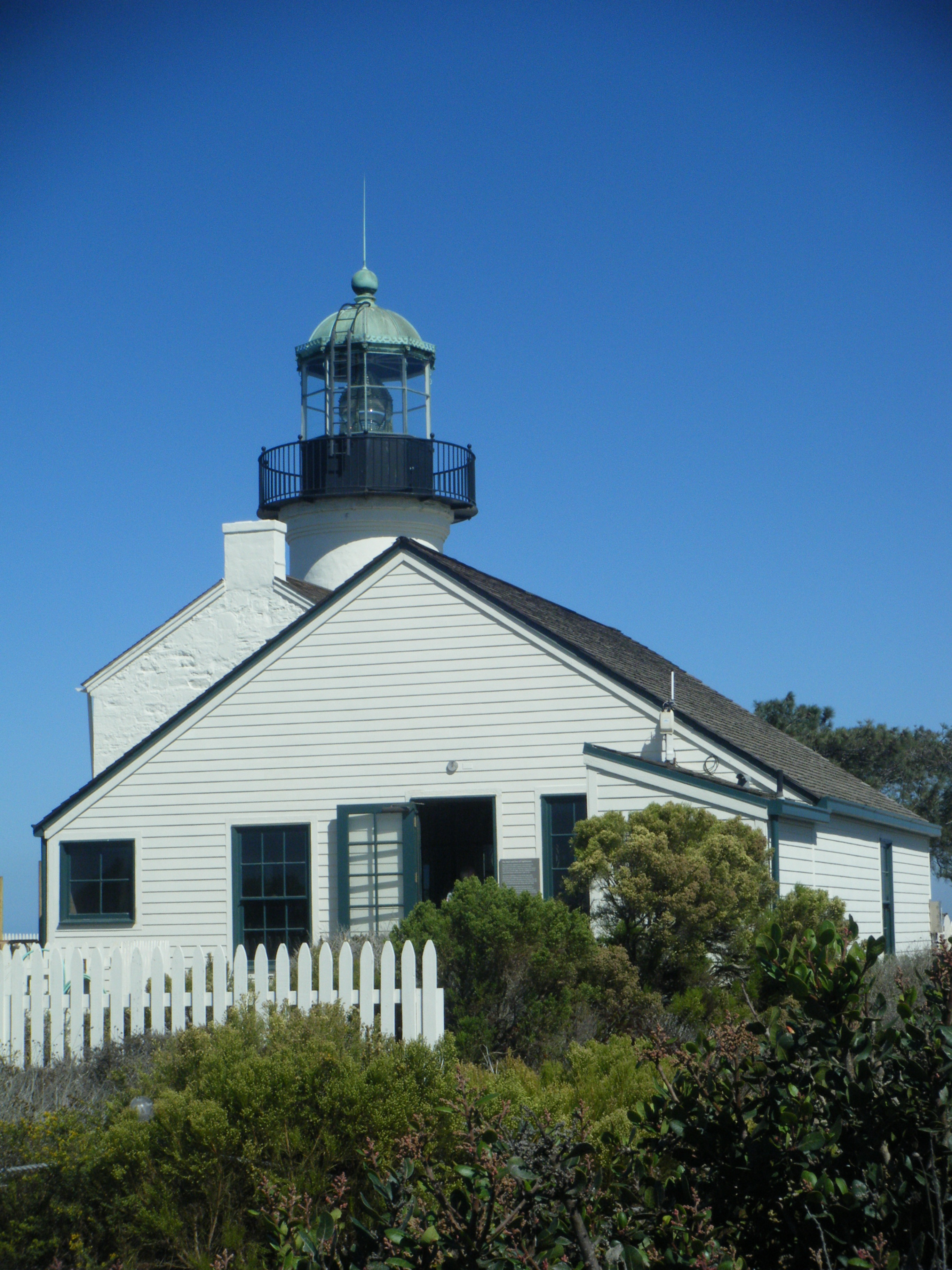 Lighthouse at Cabrillo (c) AB Raschke