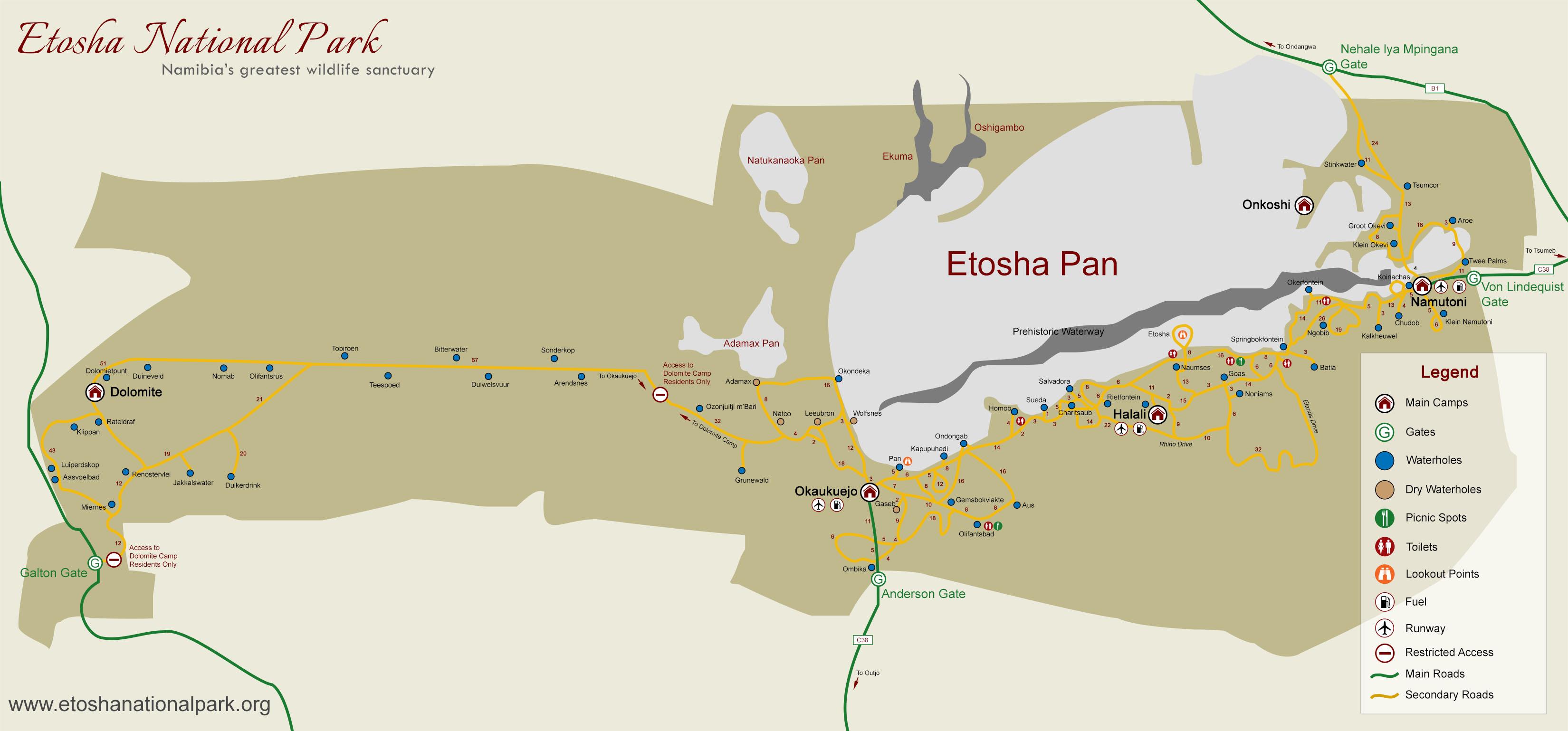 Etosha (c) Etosha National Park