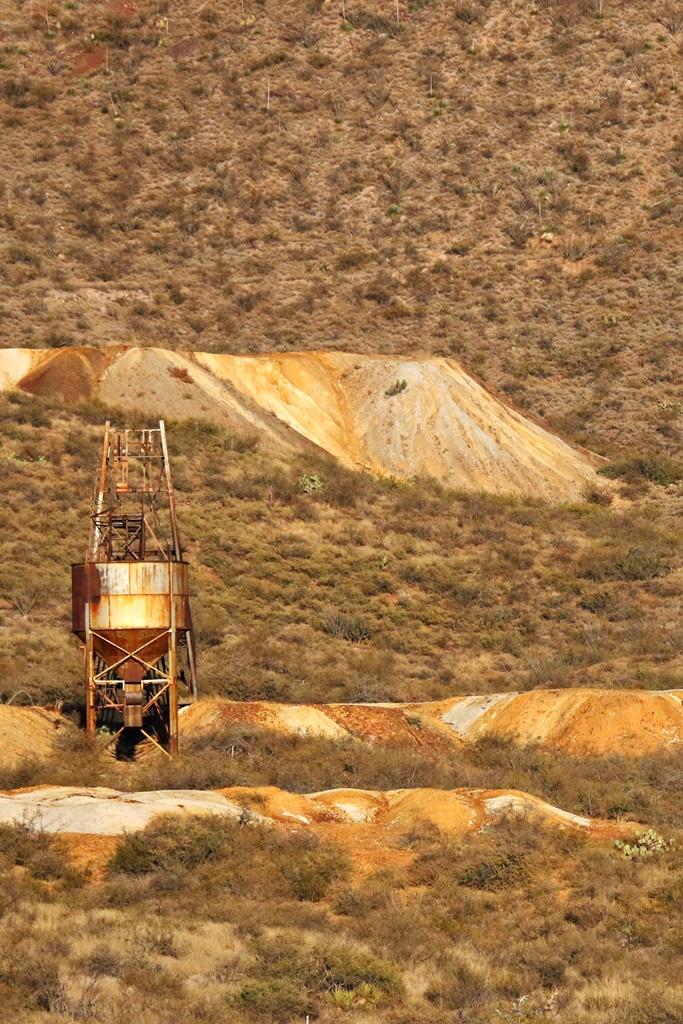 Gleeson mines and water tower (c) K. Arrington