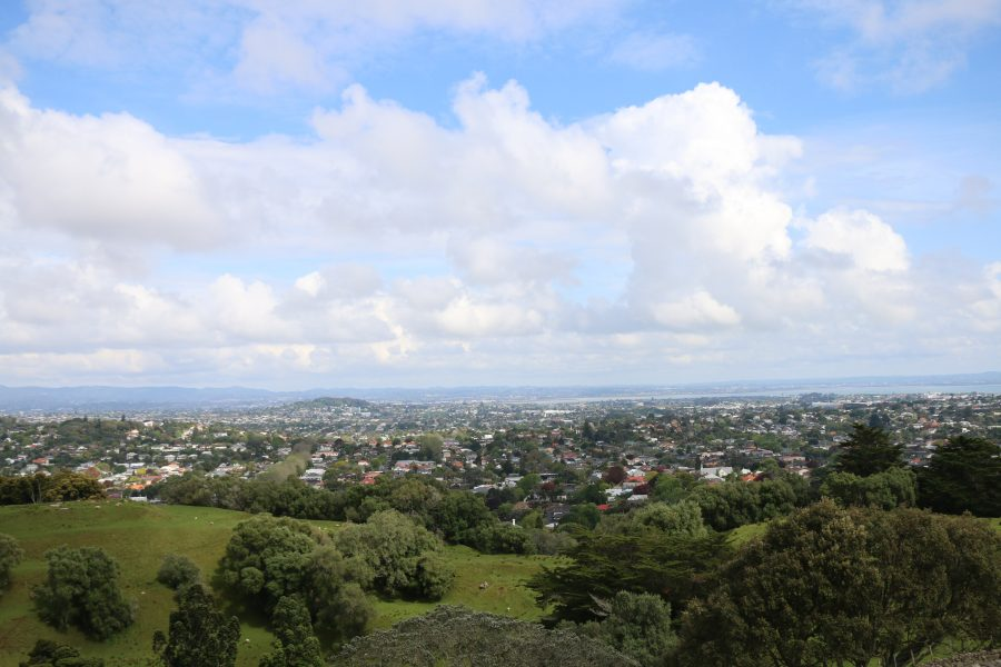 View of Auckland from One Tree Hill
