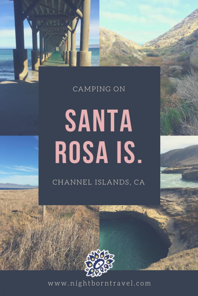 camping on santa rosa