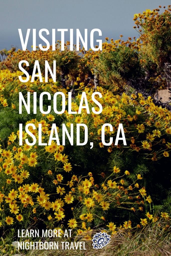 visiting san nicolas
